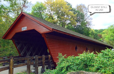 Newfield's Covered Bridge