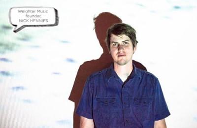 Nick Hennies, Weighter Music founder
